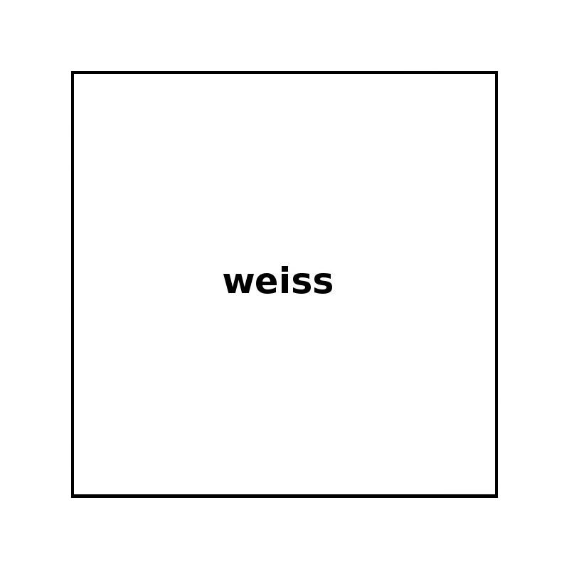 Meterware Stoff - Farbe: Weiß