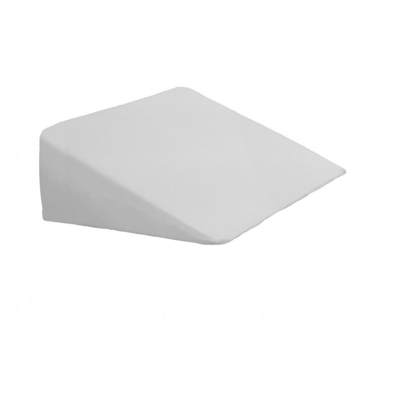 Bezug Keilkissen für Wasserbett/Lesekissen - Farbe: Weiß