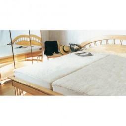 Wollunterbett aus Schafschurwolle